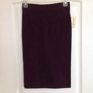 Forever21 Purple Pencil Skirt - Size S